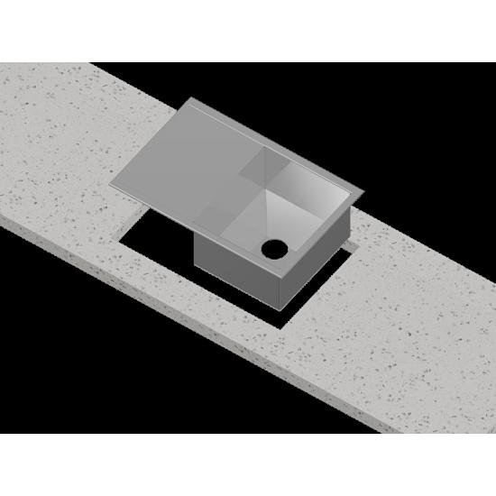 Столешница и мойка из искусственного камня